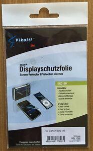 X2-Pellicola-Protettiva-Trasparente-Canon-Eos-7D-Anti-Graffio-Vikuiti-DQC160