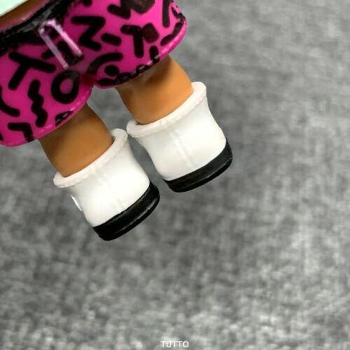 Original 1 pair shoes For LOL Surprise Dolls SCRIBBLES Under Wraps Doll SDUS1