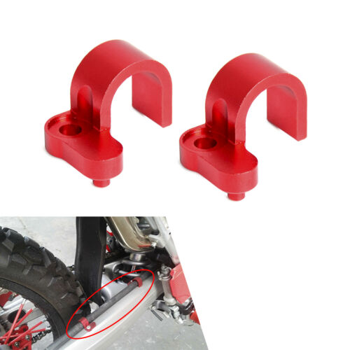 Front Rear Brake Hose Clamp Line Guide Set For Honda CRF250L M Rally 2012-2018