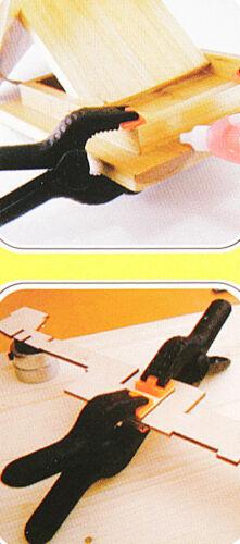 10 x Klemmzwingen stabil Klemmen Zwinge NEU Leimzwingen Leimklemme 115 mm