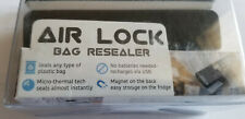 Bag Sealer - Heat is a Handheld Food Saver - Air Lock Black