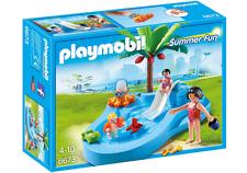 v257 orange platform pool slide 4858 Playmobil leisure