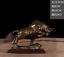 Figurine 9inch Big Wall Street Bronze Fierce Bull OX Antique Statue 23.5cm