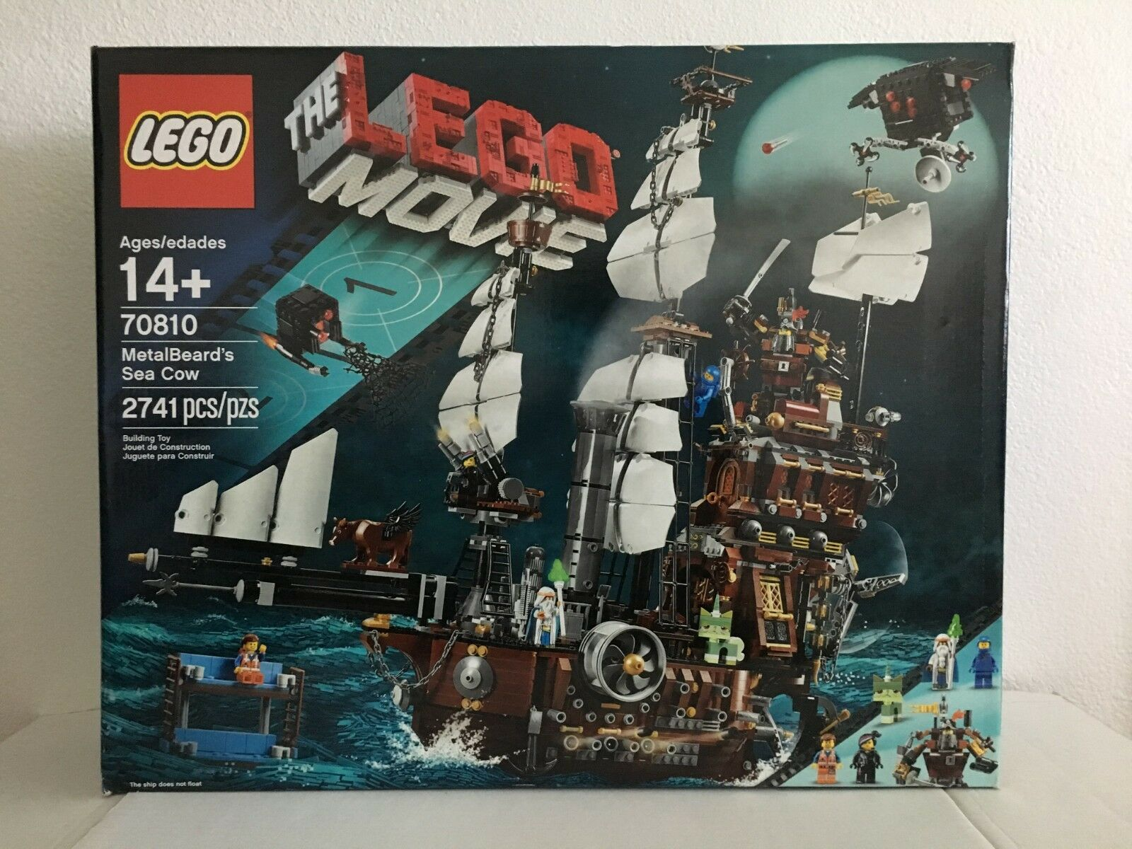 Lego métal BARBE'S SEA Cow 70810 NEW IN BOX  retraité