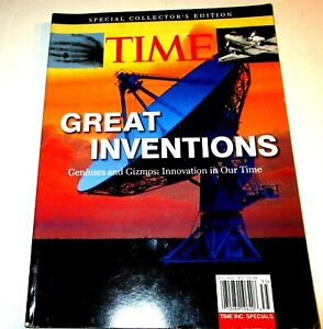 TIME'S GREAT INVENTIONS-GENIUS & GIZMOS- Innovation in Our Time