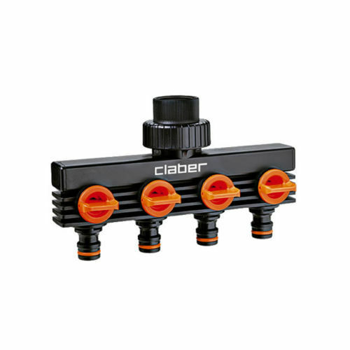 Passend Tippen Sie im quattro 3-Wege für Bewässerung Auslauf Claber 4-Wege 8581