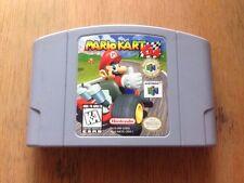 Mario Kart 64 (Nintendo 64, 1997) Game Cartridge-Tested and Working