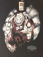 Wcw Vampiro T Shirt L 1999 With Tags Vintage Nwo Wwe Wwf Lucha Underground