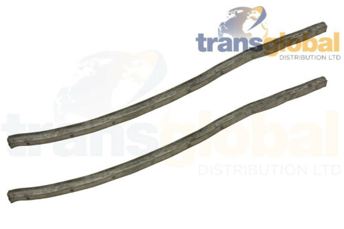 Front Door Lower Sill Rubber Seals x2 for Land Rover Series 2 2A 3 OEM MRC5740