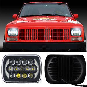 5x7 105w Osram Led Headlight Drl Replacement Fr Jeep Cherokee Xj