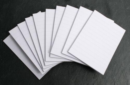 20 Notizblöcke Blöcke Blocks liniert DIN A7 Notizblocks Einkaufzettel M… #1450