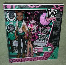 Monster High CLAWD WOLF & DRACULAURA Forbitten Love Puppe Doll NEU OVP NEW MIB