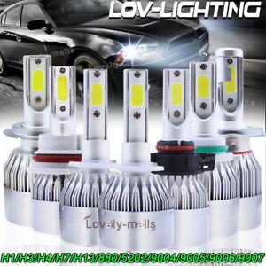 LED-Headlight-Bulb-High-Low-Beam-Fog-Light-6000K-H13-9007-H4-H11-H7-9005-9006