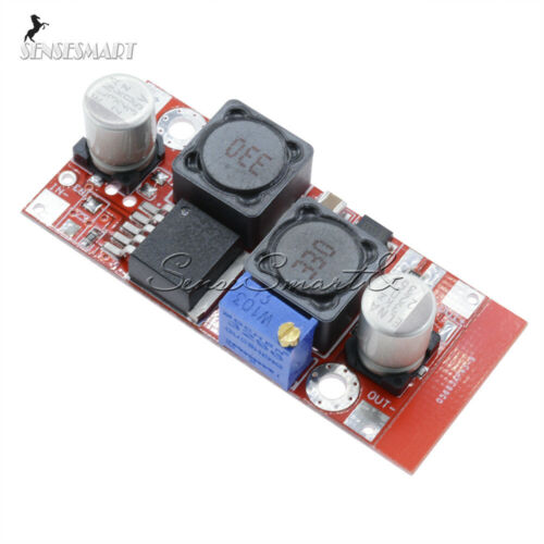 5Pcs Solar Voltage Boost Buck DC Adjustable Step Up Down Converter XL6009 Module
