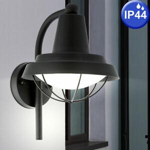 Détails sur Design Extérieur Mur Projecteur Luminaire Véranda Terrasse  Lampe Lanterne Noir