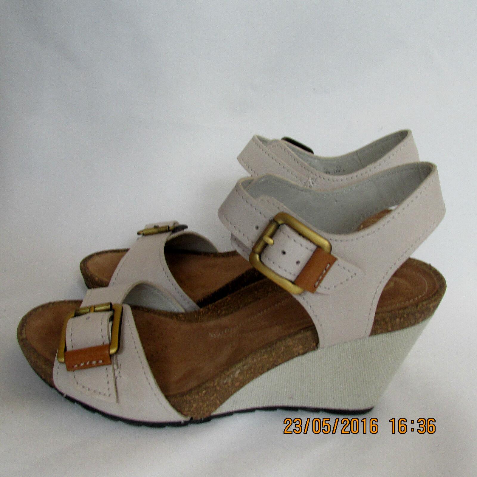 Artisan Clarks De Cuero Sandalias Mujer Para Nuevas Ztkiwopux Cuñas IbgyfY7m6v