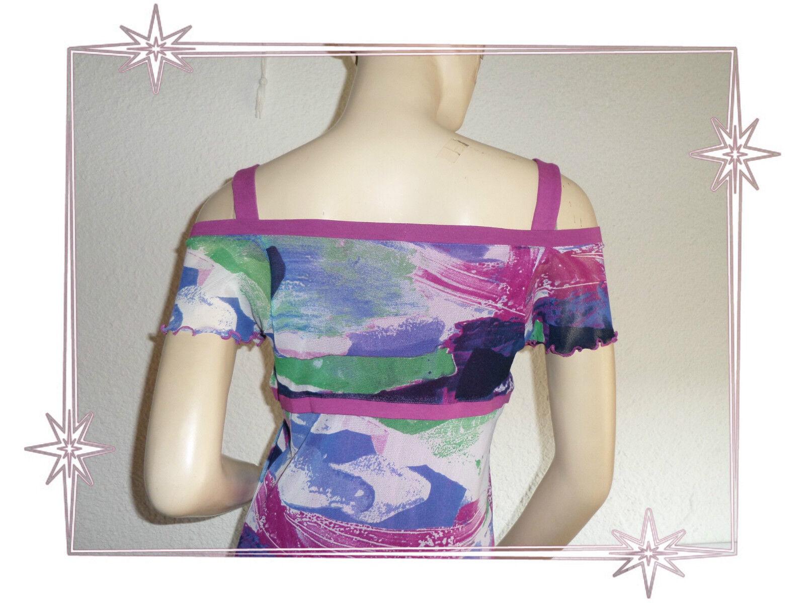 D-Kleid Fantasie Träger- lila   blau gedruckt Lewinger Größe Größe Größe 1 - 36 8a6c93