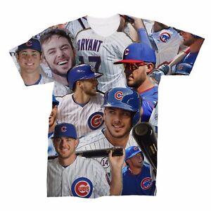 promo code c3b75 11df3 Kris Bryant Collage T-Shirt | eBay