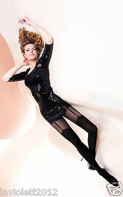Gabriella Valery Sexy Strumpfhose in Strapsoptik