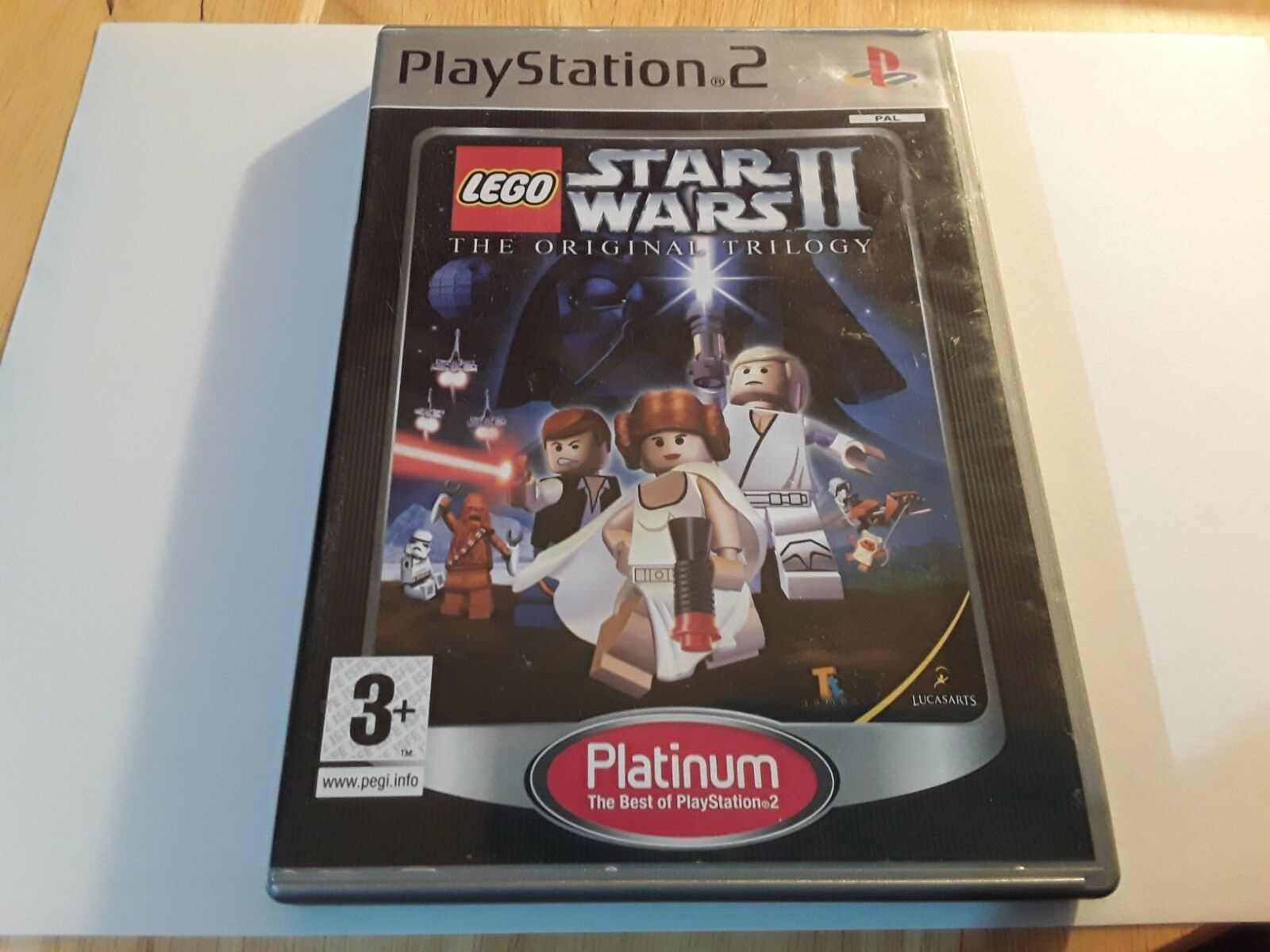 LEGO STAR WARS 2 PS2 GAME! WITHOUT MANUAL, - Occasion StarWars