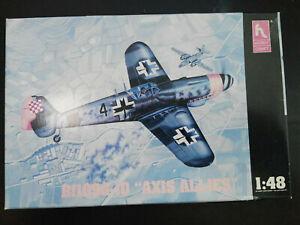 Messerschmitt-Me-109-G-10-034-AXIS-ALLIES-034-HobbyCraft-Scale-1-48-Kit-HC1522