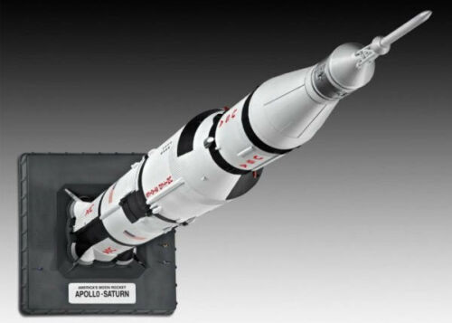 REVELL Apollo Saturn V Rocket 1:144 Space Model Kit 04909