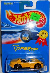 Yellow Hot Wheels Gold Ultra Hots Dodge Viper RT//10 #210