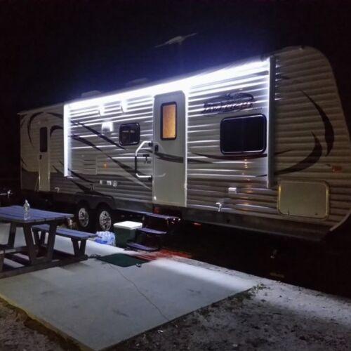 Cool White waterproof 12V 5M 5050 SMD 300 Leds LED Strip Lights Car Boat Caravan