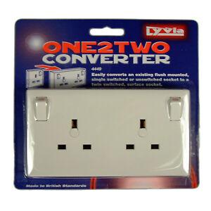 1-to-2-Gang-Plug-Socket-Convertor