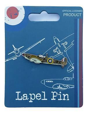 Royal Air Force Spitfire Landscape View lapel pin badge