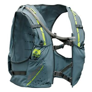 New-Mens-Nathan-VaporKrar-Hydration-Pack-12L-Race-Vest-Running-Size-L-Bluestone