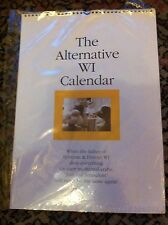 THE ALTERNATIVE WI CALENDAR - RYLESTONE LADIES - 2000 - FIRST PRINT - MINT/RARE