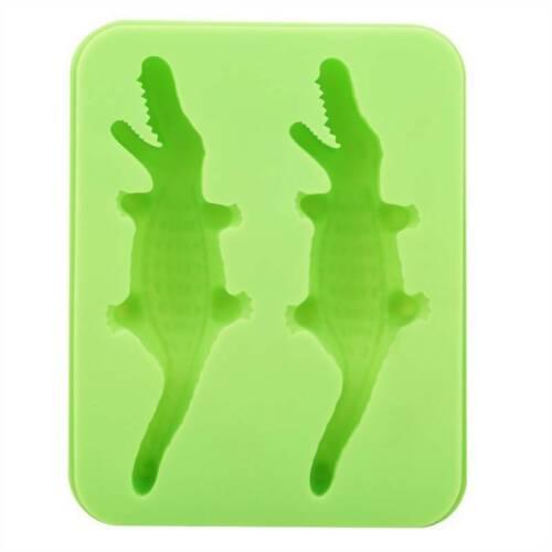 Stocked Ice Mold Crocodile DIY Silicone Mold Candy Chocolate Fondant Mould Lin