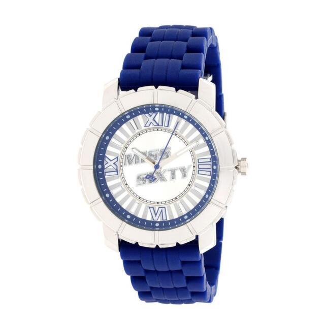 Reloj De Mujer MISS SIXTY STAR SIJ002 Silicona Azul Swarovski Coloreado M60