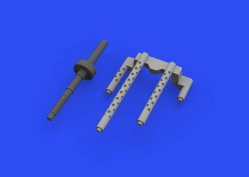 Eduard Accessories 648516-1:48 P-38F//G gun barrels for Tamiya