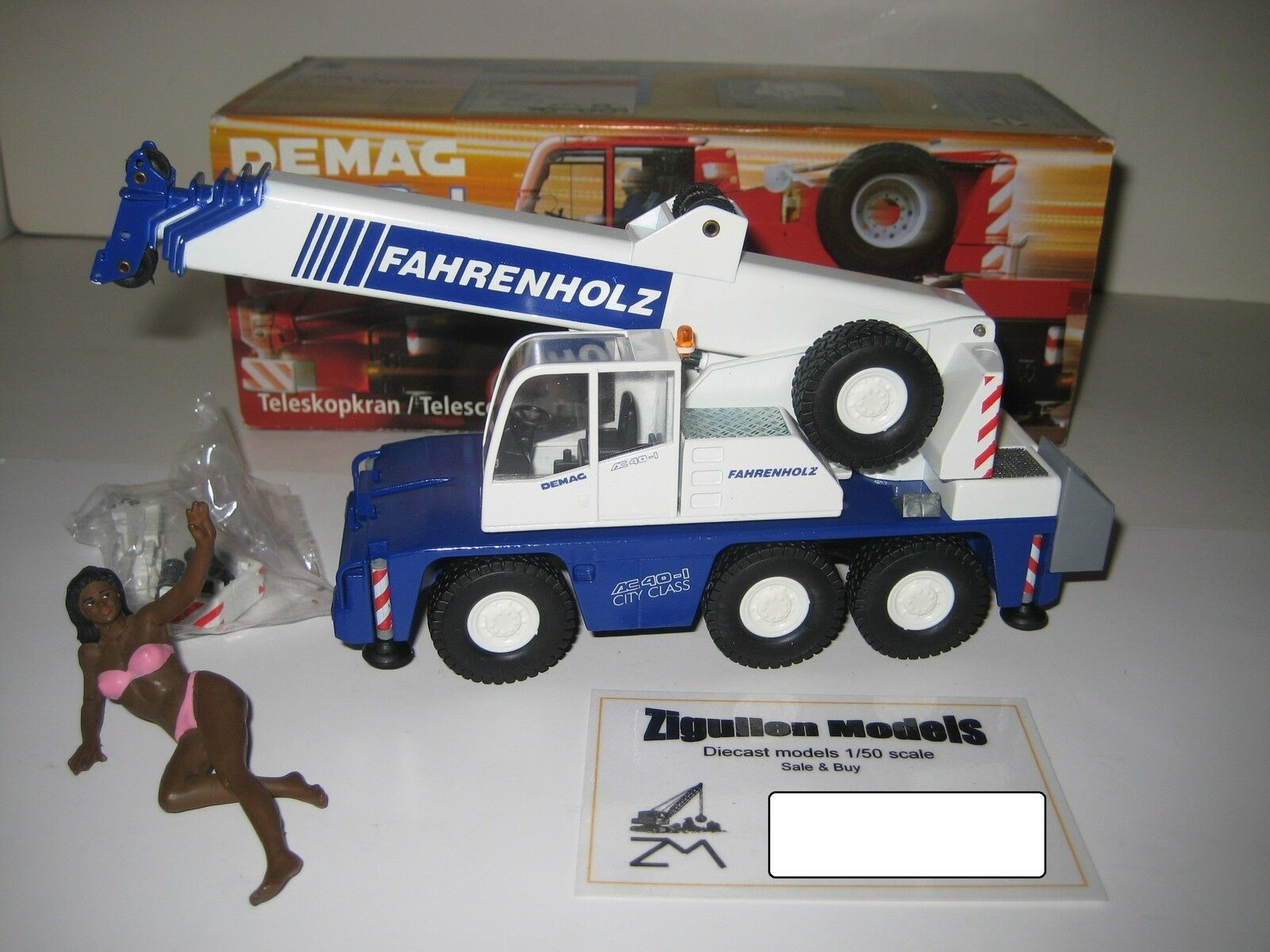 DEMAG AC 40-1 Autokran fahrenholz  2093.5 CONRAD 1 50 NEUF dans sa boîte