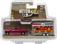 Greenlight Hitch N Tow 7 2015 Chevy Silverado & Concession Trailer Free USA Ship
