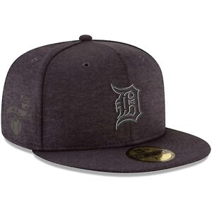 san francisco 7c499 28f64 Image is loading Detroit-Tigers-New-Era-Black-2018-Clubhouse-Collection-