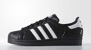 8a32532bbe16 NEW MEN S ADIDAS ORIGINALS SUPERSTAR SNAKE SHOES  D70172  MEN US 7.5 ...