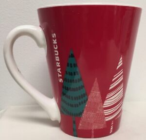 STARBUCKS-CHRISTMAS-TREE-WINTER-HOLLIDAY-COFFEE-CUP-13-OZ-SIZE-RED-amp-GREEN-MCM