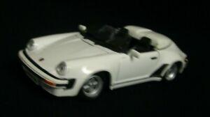 Maisto-Die-Cast-blanco-1989-Porsche-BB-ps-911-Speedster-1-24-Escala