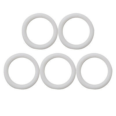 5pcs Baby O-Rings Silicone Dummy Pacifier Chain Clips Adapter Holder for MAM New