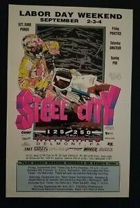 Steel City Motocross Racing Poster Motorcycle 1994 Yamaha Delmont Pennsylvania
