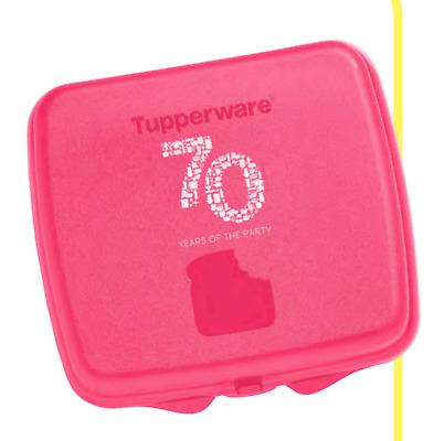 TUPPERWARE DISNEY PRINCESS PINK SANDWICH KEEPER