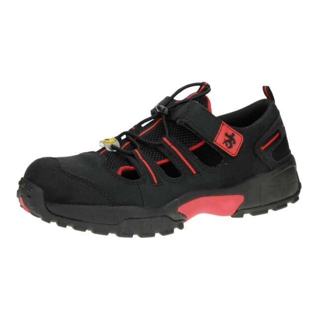 BAAK 7411 Arbeitsschuh Sicherheitsschuhe Sandale mit Kunststoffkappe S1P ESD