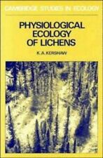 Physiological Ecology of Lichens (Cambridge Studies in Ecology)-ExLibrary