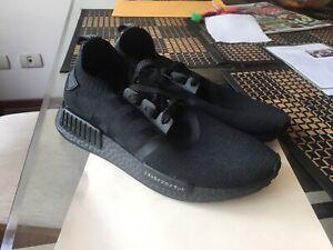 Negro Nuevo Adidas Talla R1 8 Nmd Fq7w7axO