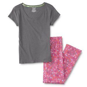 Women  039 s Pajama Set T-Shirt  amp  Pants Confetti Size Large 201331cd47