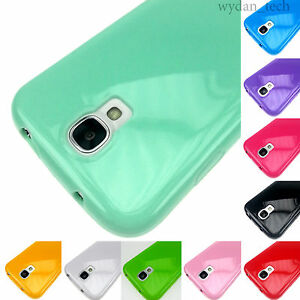 For-Samsung-Galaxy-S4-S-IV-Shockproof-TPU-Gummy-Skin-Case-Flexible-Rubber-Cover
