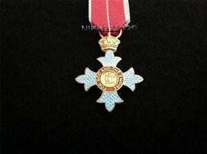 MINIATURE-GBE-KBE-CBE-COMMANDER-OF-THE-BRITISH-EMPIRE-MEDAL-WITH-MILITARY-RIBBON